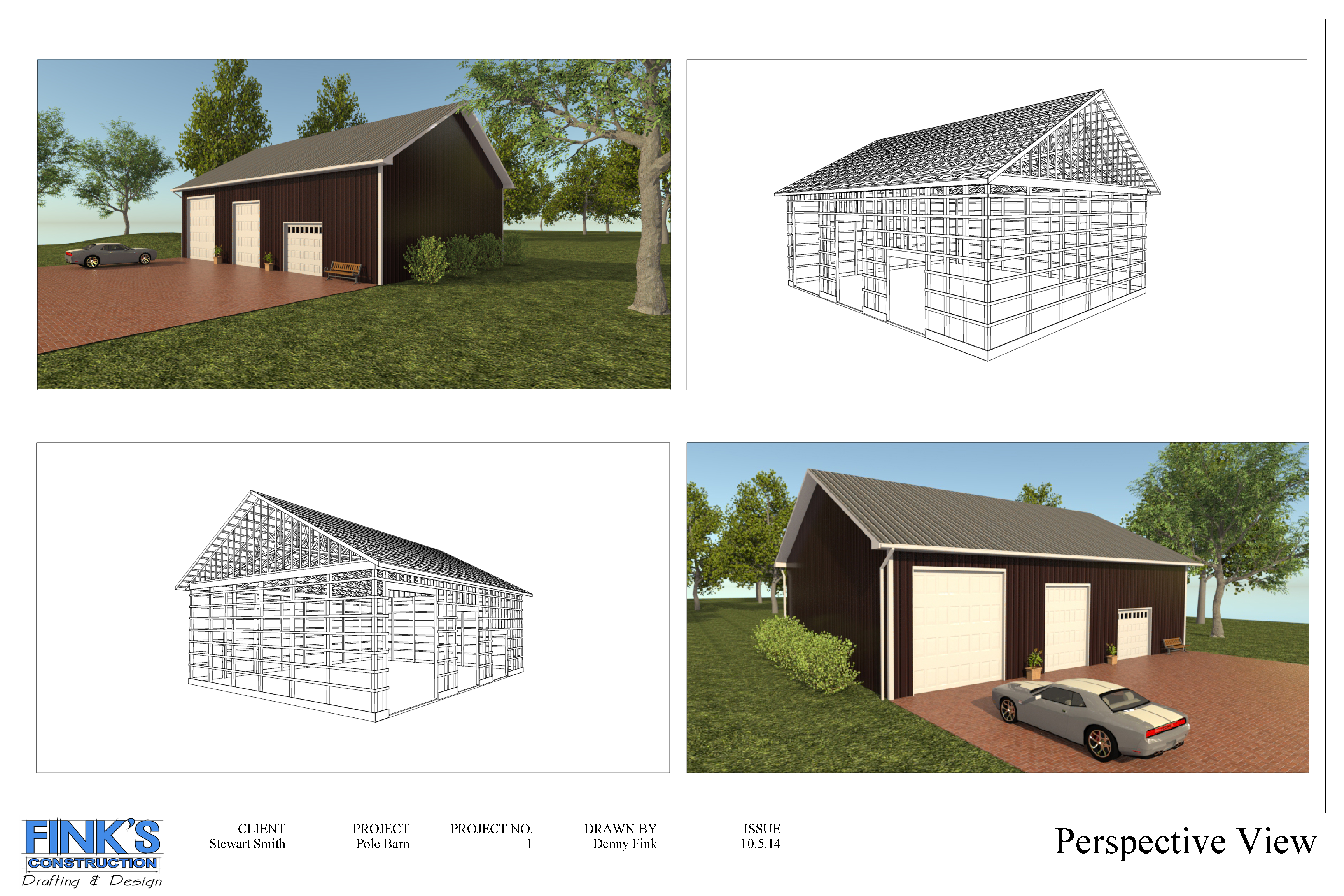 Finks Construction and Design | Drafting and Design